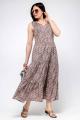 Платье La rouge 5326 капучино-набивной