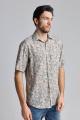 Рубашка Nadex 01-018222/513_170 бежевый
