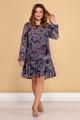 Платье Медея и К 2092 фиолетовый