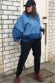 Спортивный костюм Runella 1448 джинс