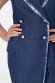 Платье Anelli 841 синий