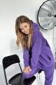 Худи Rawwwr clothing 083 фиолетовый