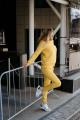 Брюки Rawwwr clothing 001-начес желтый
