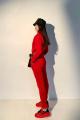 Брюки Rawwwr clothing 001-начес красный