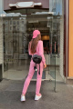 Брюки Rawwwr clothing 001-начес розовый