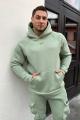 Худи Rawwwr clothing 028-начес оливковый
