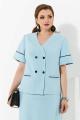 Женский костюм Lissana 4256 голубой