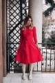 Платье Sisters Solonko 928К красный