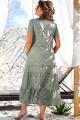 Платье Vittoria Queen 12593 хаки