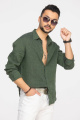Рубашка Cool Flax КФР001 зеленый