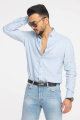 Рубашка Cool Flax КФР002 голубой