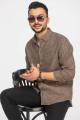 Рубашка Cool Flax КФР002 коричневый