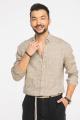 Рубашка Cool Flax КФР001 светло-коричневый