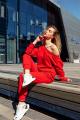 Брюки Rawwwr clothing 112-начес красный