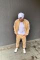 Брюки Rawwwr clothing 123-начес бежевый