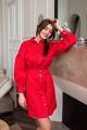 Платье KRASA 215-21 красный