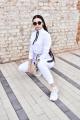 Свитшот Rawwwr clothing НЗ018-начес белый