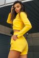 Свитшот Rawwwr clothing НЗ018-начес желтый