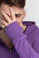 Худи Rawwwr clothing КОЛА051-начес фиолетовый