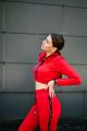 Брюки Rawwwr clothing ВТ004-начес красный