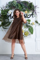 Платье Anastasia 613 кофе