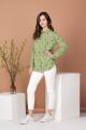 Блуза Соджи 483 зелёный