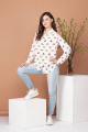 Блуза Соджи 483 молочный