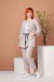 Женский костюм Соджи 488 бежевый