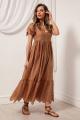 Платье Nova Line 50084 кофе