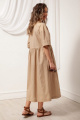 Платье Nova Line 50109 полоска_беж