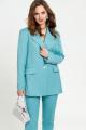 Женский костюм TEZA 2375 светлая-бирюза