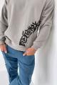 Джемпер Rawwwr clothing 229-начес серый