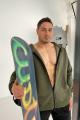 Худи Rawwwr clothing 228-начес хаки