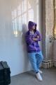 Худи Rawwwr clothing 228-начес фиолетовый