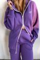 Худи Rawwwr clothing 221-начес фиолетовый