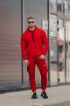 Брюки Rawwwr clothing 185-начес красный