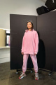 Худи Rawwwr clothing 083-начес розовый