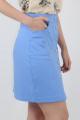 Юбка VLADOR 500143-1 голубой