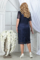 Платье Ninele 5843 синий_синий