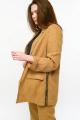 Женский костюм MALI 721-034 охра