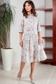 Платье Teffi Style L-1487 жемчужный