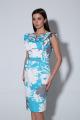 Платье Ксения Стиль 1895 голубой
