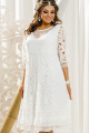 Платье Vittoria Queen 14013 белый