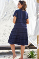 Платье Vittoria Queen 12683 темно-синий