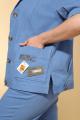 Женский костюм Vilena 723 голубой