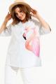 Рубашка ELLETTO 3485 бело-голубой