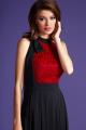 Платье LaVeLa L1841 черный/красный