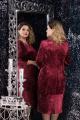 Платье LeNata 11814 бордо
