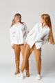 Рубашка Almirastyle 152-1 белый