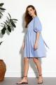 Платье SODA 591 голубой